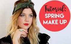 In this Tutorial I show you a classy Spring Makeup look with bold lips! Bold Lips, Spring Makeup, Makeup Looks, Make Up, Classy, Red, Inspiration, Beauty, Biblical Inspiration