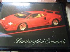 Lamborghini Countach Vintage Picture | Collectibles, Advertising, Automobiles | eBay!