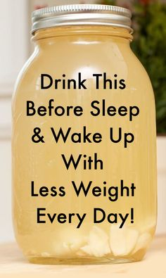 Drink This Before Sleep And Wake Up With Less Weight Every Day! - Simply Drink This Before Sleep And Wake Up With Less Weight Every Day! This powerful weight loss dr - Weight Loss Meals, Weight Loss Smoothies, Fast Weight Loss, Weight Loss Tips, How To Lose Weight Fast, Fat Fast, Weight Gain, Lose Fat, Weight Loss Juice