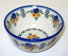 polish pottery patterns