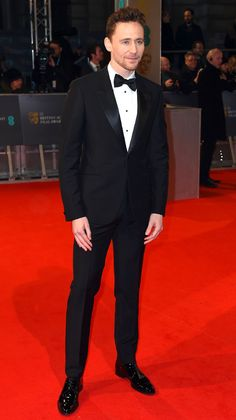 Tom Hiddleston from 2015 BAFTA Film Awards: