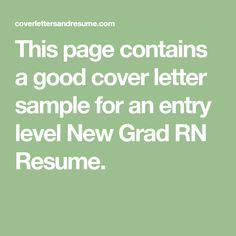 Registered Nurse Cv Sample HttpWwwRnresumeNetCheckOurRn