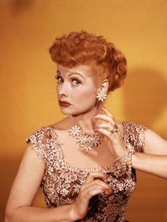 i LOVE lucy!!!  funny, beautiful, always feminine.  did i mention funny?