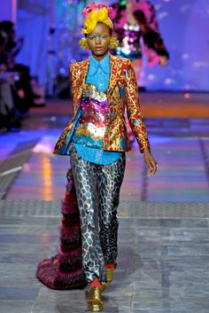 Meadham Kirchhoff Fall 2012 Ready-to-Wear Fashion Show