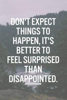 Minimizing Expectations!