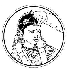 Mehndi Designs Book, Bridal Mehndi Designs, Wedding Drawing, Wedding Art, Art Sketches, Art Drawings, Wedding Symbols, Pencil Design, Indian Paintings