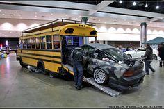 toy hauler conversions   ... Bus Hauler http://digitaldesignsgroup.com/httpsecure/school-bus-hauler