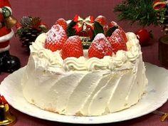 Japanese Christmas Cake by NPR: Here's how to make it : ) #Cake #Christmas #Japan