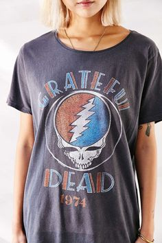 Junk Food Grateful Dead Tee - Urban Outfitters // this is really expensive but I bet I could find it somewhere else a bit cheaper