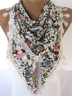 NEWScarf  Elegant  Scarf Fashion Scarf  by SmyrnaShop on Etsy, $17.90