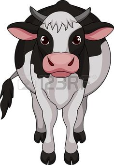 cartoon cow - Google Search