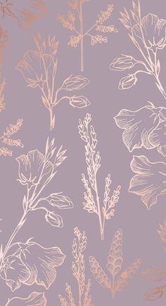 Gold Wallpaper Background, Vintage Flowers Wallpaper, Rose Gold Wallpaper, Phone Wallpaper Images, Flower Phone Wallpaper, Summer Wallpaper, Cute Wallpaper Backgrounds, Pretty Wallpapers, Screen Wallpaper