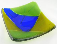 Fused Glass Plate Dish
