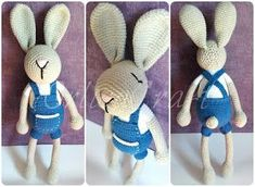 Bunny in Dungarees