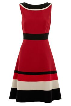 FIona color block dress