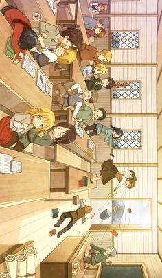 SNK ~ kindergarten.<<< tough class. I feel sorry for the teacher