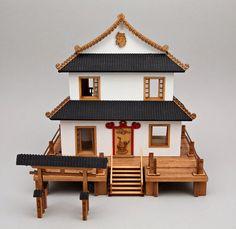 Quarter-scale Japanese house