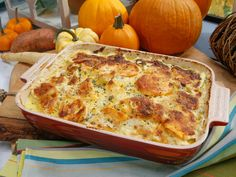 Root Vegetable One-Dish recipe from Nancy Fuller via Food Network maybe not add so much cream! Root Vegetable One-Dish recipe from Nancy Fuller via Food Network maybe not add so much cream! Root Vegetable Gratin, Root Vegetables, Veggies, Thanksgiving Recipes, Fall Recipes, Holiday Recipes, Holiday Meals, Family Thanksgiving, Thanksgiving Appetizers