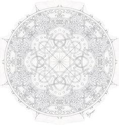 Mandala Drawing, Mandala Art, Mandala Pattern, Pattern Art, Middle Eastern Art, Portrait Background, Paper Ornaments, Plate Art, Marquetry