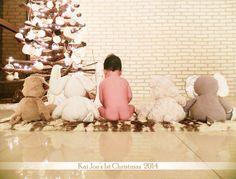 Kai joe's fist christmas photo 2014