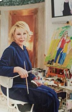 Joan even painted wow she was great at everything.  Miss her.