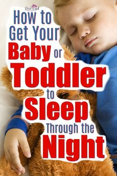 Is your baby or toddler waking up during the night? Here's simple ways to get your toddler or baby to sleep through the night.every night! A must-read for parents who want their baby, toddler or even preschooler to sleep better at night! Kids Fever, Dads, Sleeping Through The Night, Strip, Before Baby, Baby Massage, Parenting Toddlers, Parenting Tips, All Family