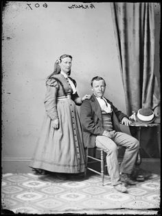 Mr. and Mrs. Brown c. 1870-75  State Library of New South Wales