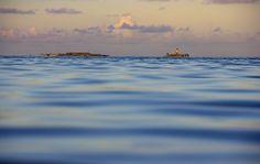 Ile de la Passe - Shot from Pointe D'esny beach in Mauritius. Merry Warm Christmas!