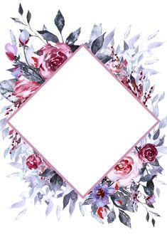 Wallpaper floral backgrounds design 38 new ideas Flower Backgrounds, Wallpaper Backgrounds, Iphone Wallpaper, Framed Wallpaper, Floral Print Wallpaper, Scrapbook Background, Floral Logo, Floral Border, Flower Frame