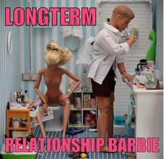 Long Term Relationship Barbie - EvilMilk.com