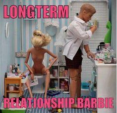 Long Term Relationship Barbie - EvilMilk.com