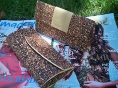 POEME DESIGN: Bolsa tipo carteira com caixas de leite!
