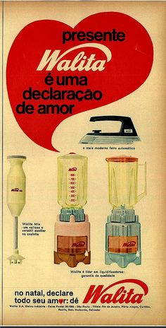 60's Walita advertising by Gugue, via Flickr