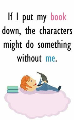 Book lovers everywhere will understand the feeling of not wanting to abandon their favorite fictional friends.