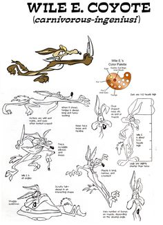 Wile E. Coyote Model Sheet by guibor Character Model Sheet, Character Art, Character Design, Looney Tunes Characters, Looney Tunes Cartoons, Famous Cartoons, Classic Cartoons, Cartoon Drawings, Cartoon Art