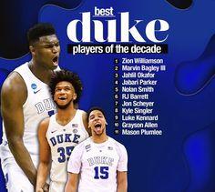Marvin Bagley Iii, Mason Plumlee, Jabari Parker, Duke Basketball, Best Player