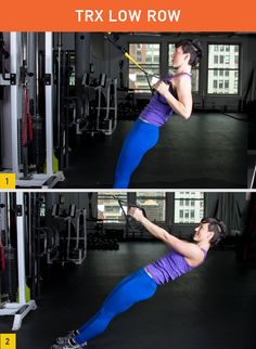 Maybe you've seen these black-and-yellow straps around your gym, but now it's time to put them to work. Check out our roundup of the best exercises you can do with this awesome piece of equipment. http://greatist.com/fitness/effective-TRX-exercises