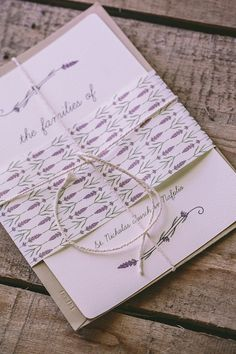 Lavender Wedding Stationery  | Love4Wed | George Pahountis | Bridal Musings Wedding Blog 41