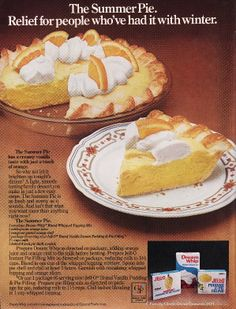 Months of Edible Celebrations: Wordless Wednesday; It's St. Retro Recipes, Old Recipes, Vintage Recipes, Cookbook Recipes, Sweet Recipes, Pie Dessert, Dessert Recipes, Pudding Desserts, Cake Recipes