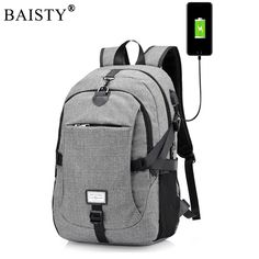 740f8fb5d25 2018 New Men Male Oxford Multifunction USB charging Backpack College  Student School Backpack Bags for Teenagers. Designer BackpacksSchool ...