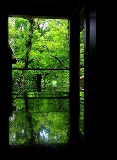 Terraced reflective pools