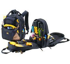 Custom LeatherCraft 1134 backpack - backpacks (Black)