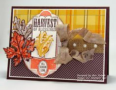 The Stampin' Schach: A Harvest of Blessings for The Paper Players