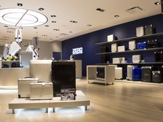 New York Flagship Store is located at 300 Madison Ave, New York, NY 10017.
