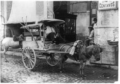 A fruit vendor with his cart, circa 1904. (Library of Congress,In pictures: archive photos of Cuba's Havana from the early 1900s