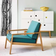 otto chair zweed