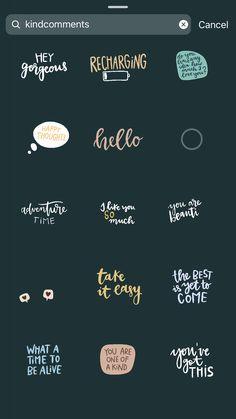 Instagram Emoji, Creative Instagram Stories, Instagram And Snapchat, Instagram Story Template, Instagram Story Ideas, Instagram Quotes, Gifs, Snapchat Stickers, Insta Photo Ideas
