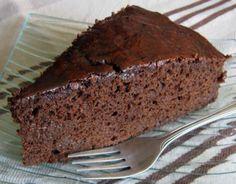 Receitas - Bolo de Chocolate com Café da Nô - Petiscos.com