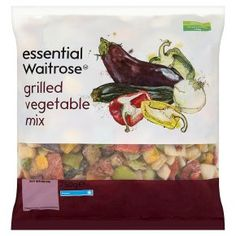 essential Waitrose grilled mix vegetables - Waitrose