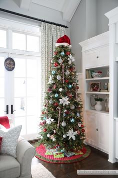 Christmas in the family room December 19, 2014 by Erin